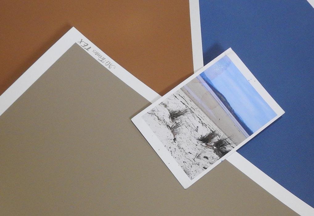 Choosing the sanded paper