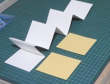 Covers and folded paper