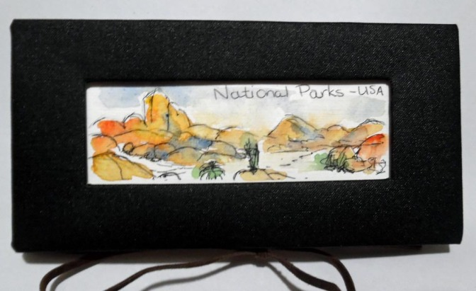 USA National Parks Sketchbook