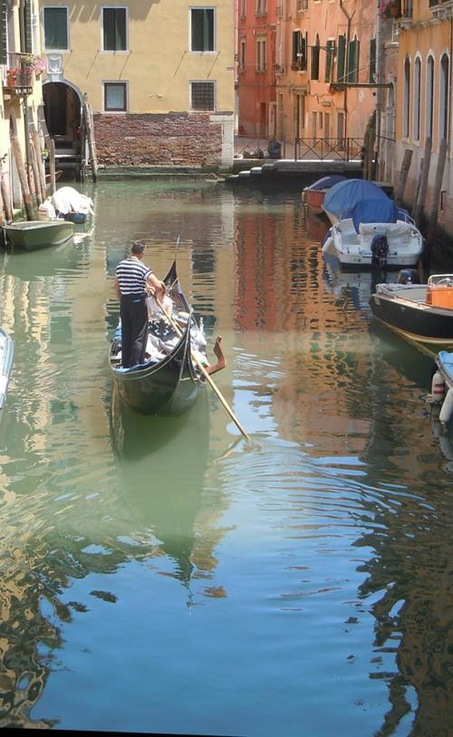 Venetian canal.