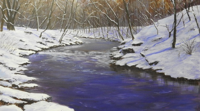 Winter river.