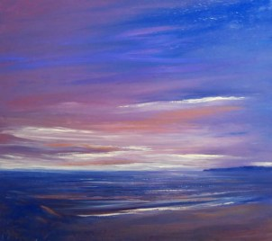 Evening sky- SOLD