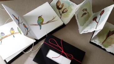 handmade artbooks