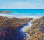 Beach Path - pastel
