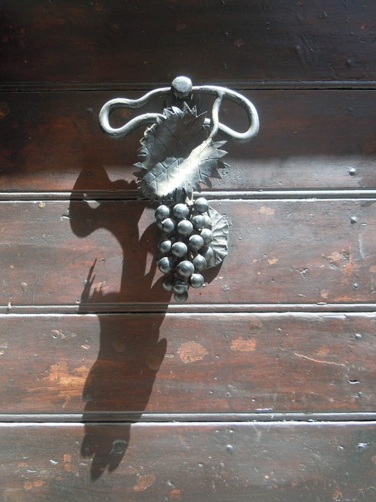 Doorknocker in San Quirico