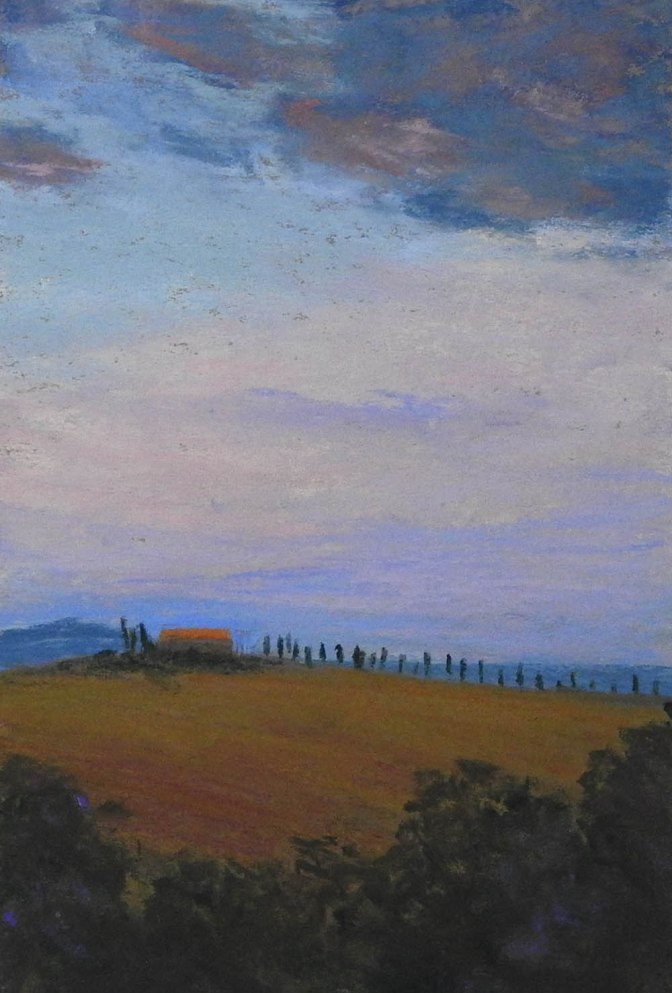Muted pleasures – Tuscan Sky