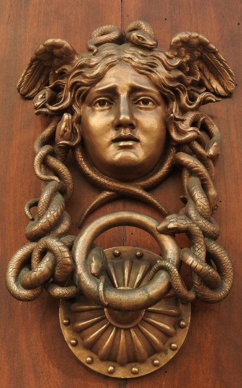 Rome. Doorknocker