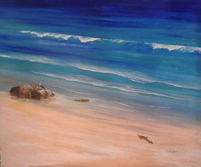 East Coast colours - acrylic painting
