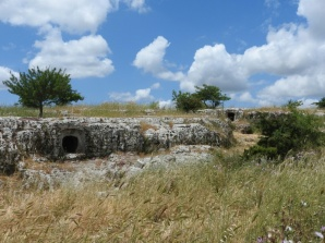 Nuraghi necropolis. Sardinia