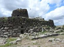 Nuraghi fortress. Sardinia