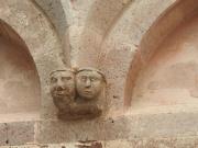 Church deatil. Sardinia