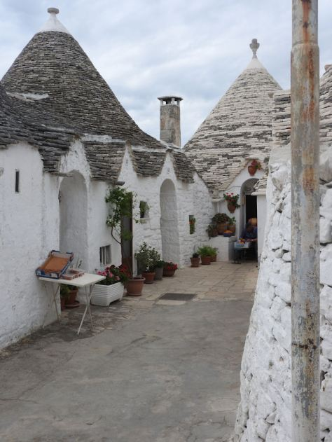 Alberobello traditional Trulli