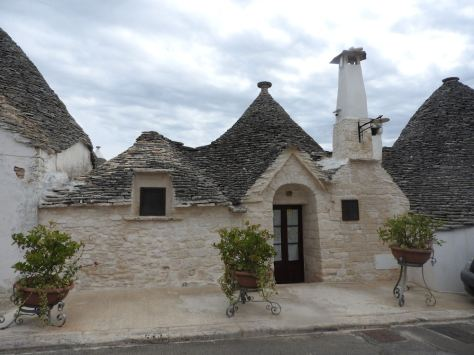 Trulli accommodation Alberobello
