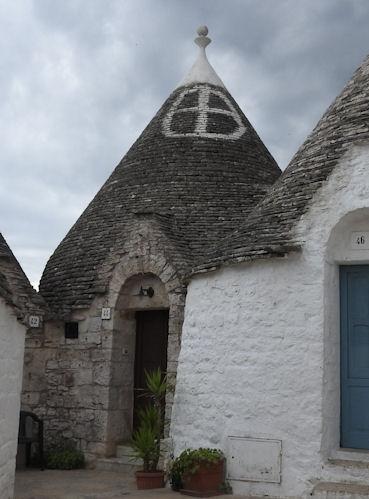 Trulli roof symbols