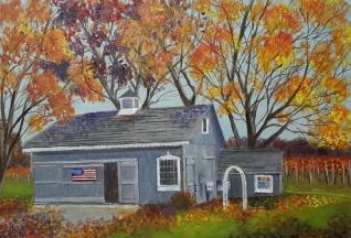Barn in Autumn