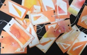 Abstract gift tags