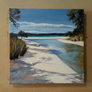 Adventure Bay - acrylic on canvas