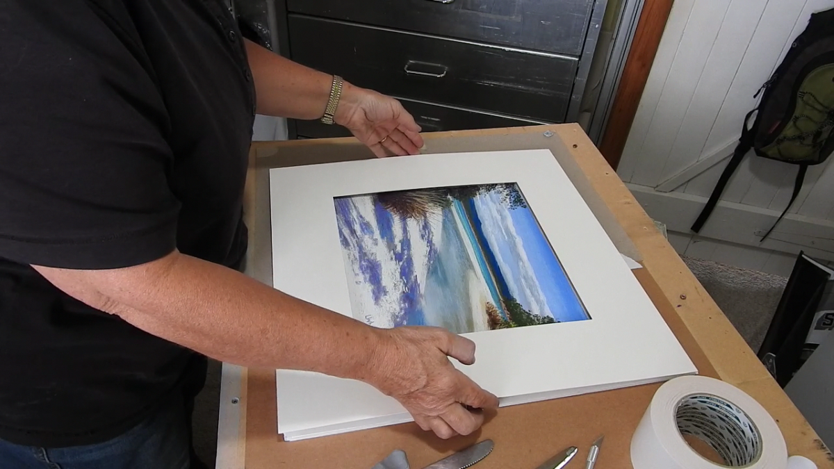 Tutorials and demos lindywhittonstudio diy framing a pastel painting solutioingenieria Image collections