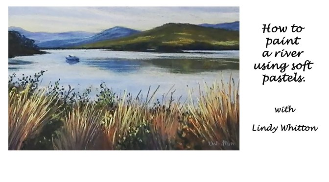Huon River Painting Demo