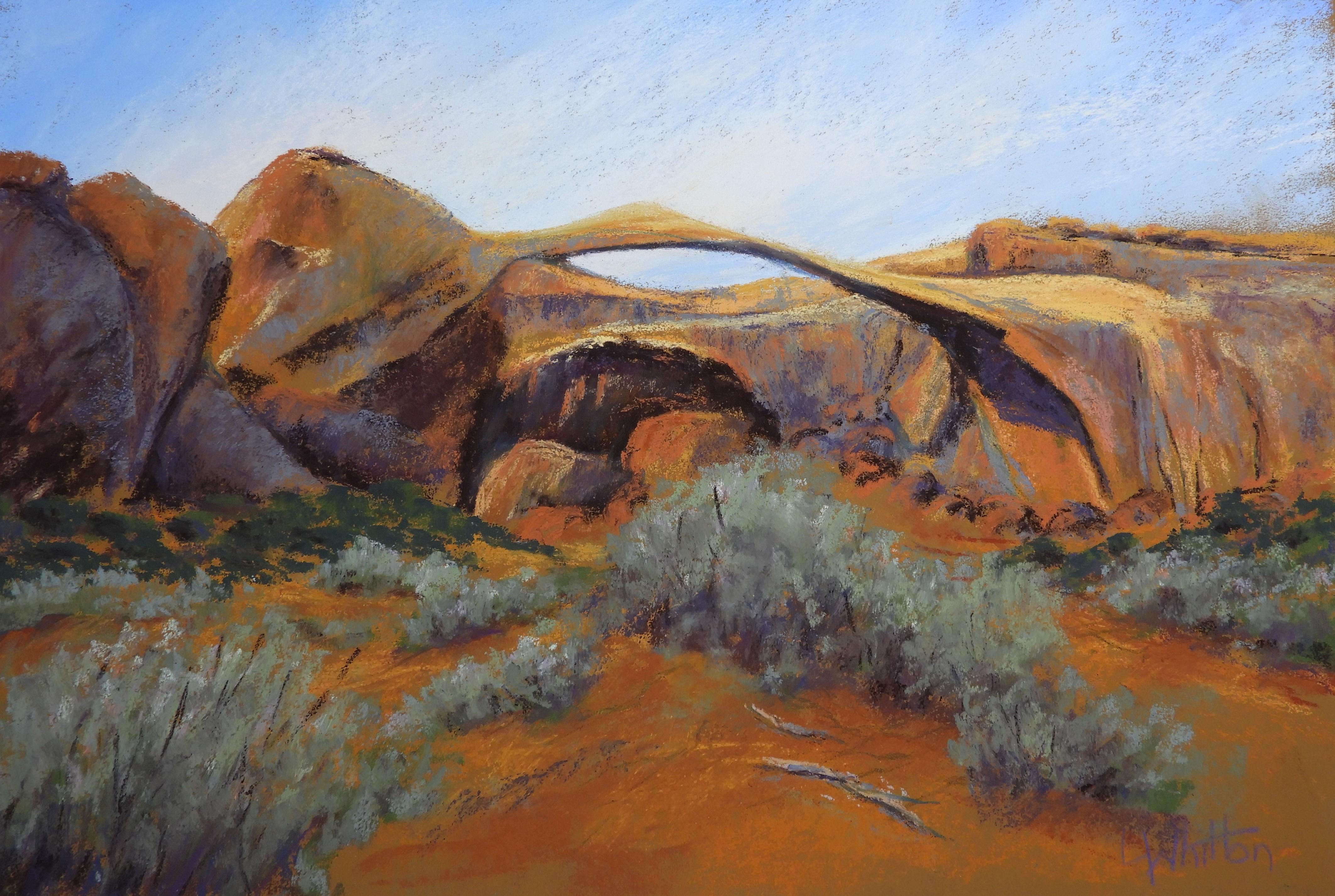 Landscape Arch - Desert Colours
